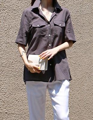 Kim Linen Shirt - 3c