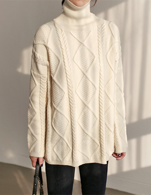 LOE cable knit - 2c