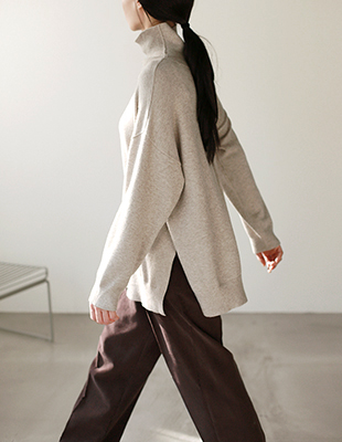 Plain Long knit