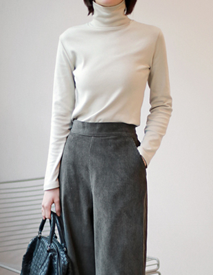 life short brushed Turtleneck