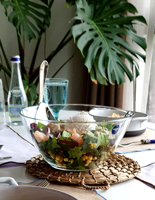 Luminarc salad bowl