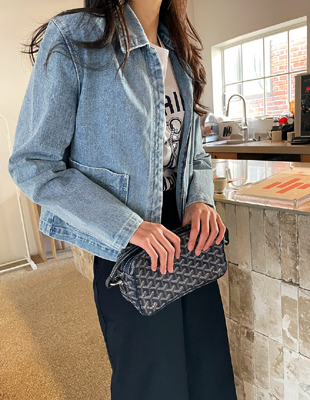 Compact Denim Jacket