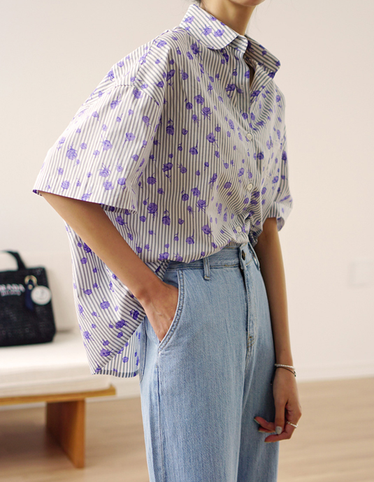 Lavender Rose Shirt