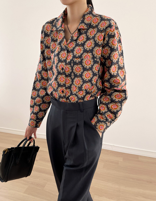 Carol Flower Shirt