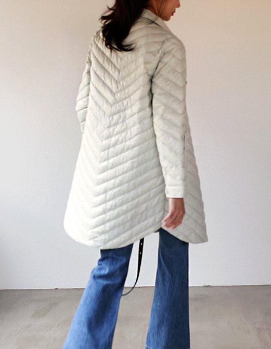 Draw Half Quilted Padding