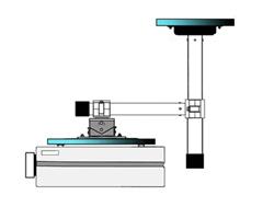 L- type 延長棒付きブ金具 PM-270S/専用ブラケットtype