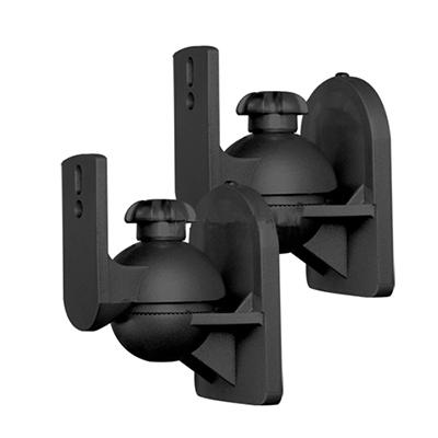 壁面の小型スピーカー金具sb-80b(2本)