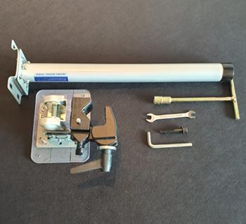 プロジェクター用反射鏡+天井取付金具とパイプPM-450G(5種類サイズ) 0~90度