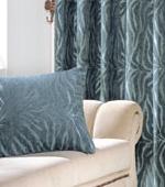 Wide-curtain paper) Grand (Blue)