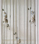 Wide-curtain paper) Anna (Gray)