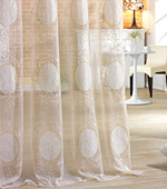 Wide-curtain not) Patch (Beige)