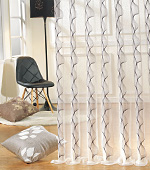 Wide-curtain not) style (White)
