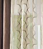 Wide-curtain not) style (Beige)