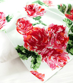 Cotton span) Rose Day (whiteivory)