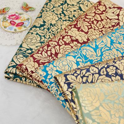 Hanbok Fabric Hanbok cloth) Rose gold leaf 5color