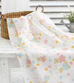 Muhyeonggwang handkerchief cut paper) Flower Bear