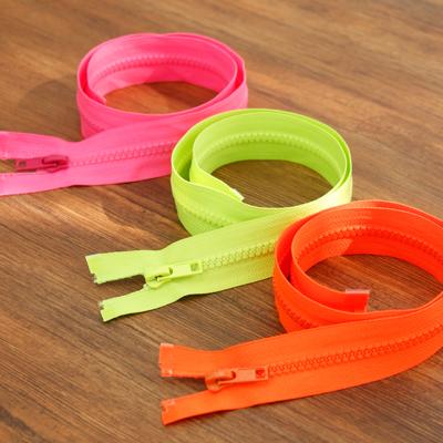 60cm) jumper fluorescent plastic zipper (3 types)