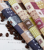 Cotton blends), three kinds of coffee cup