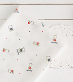 Muhyeonggwang handkerchief cut paper) Little Bear