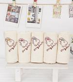 Organic embroidery handkerchief 5 cotton