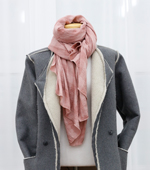 Finished product) Check Pashmina Scarf (6 types)