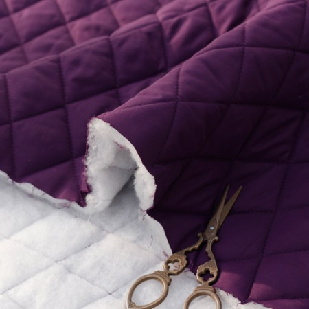 Significantly -2 inch padding section) diamond (Purple)