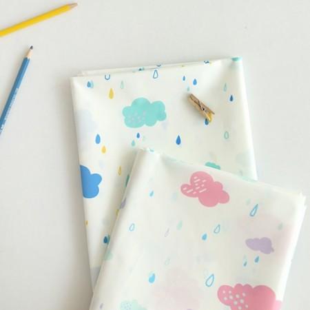 Large-waterproof cloth) 2 kinds of yuwabi