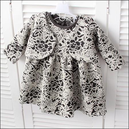 Garment Span) Jacquard Fabric - Bebe