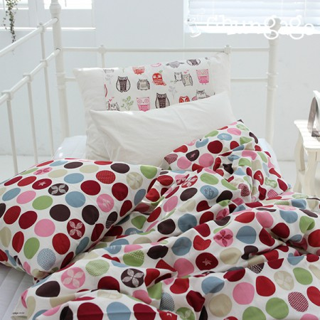 20 Cotton Fabric Plain Weave Fabric Pole Dot 155