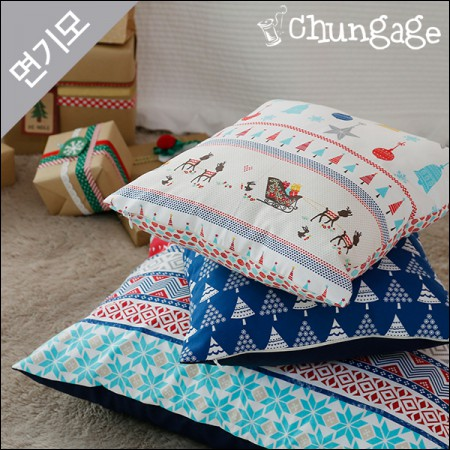 Widely brushed cotton microfiber winter fabric Nordic Christmas