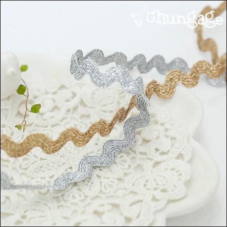 Tosonreisutoshon 001 S curve curved wave bellows lace (2 species)