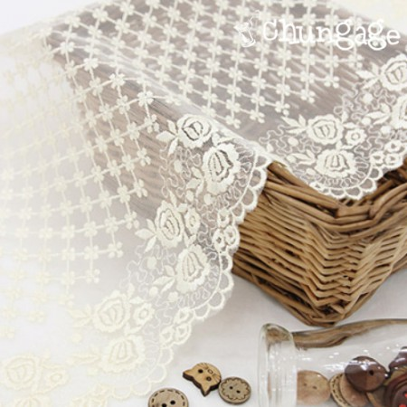 Table Runner Race R001 Outlet Cream