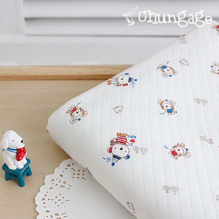 Quilting daimaru hello bear