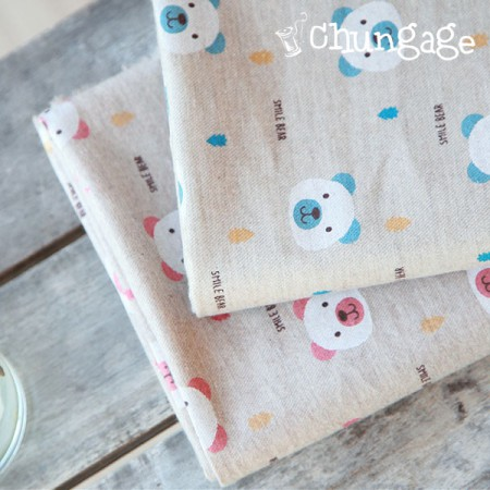 Significantly 2 Linen cotton Hermp's Hermp One Bear