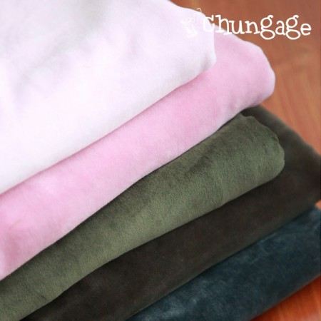 Wide cotton Veloa Span plain 5 kinds