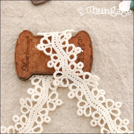 Chemical Lace Chemical 046 Bubble friend double-sided natural