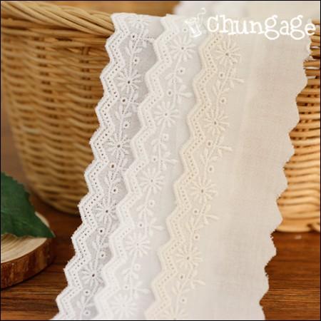 Cotton lace cotton 077 three-colored floret (three species)