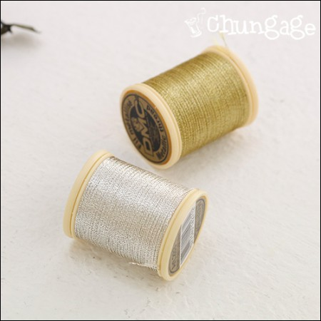 French embroidery thread DMC genuine gold thread silver cross embroidery