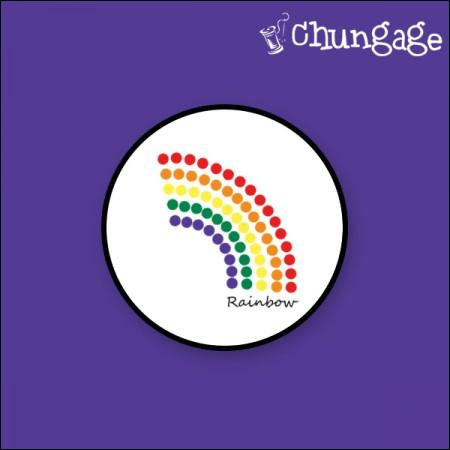 Smart Talk Cellphone Cradle) Rainbow GR014