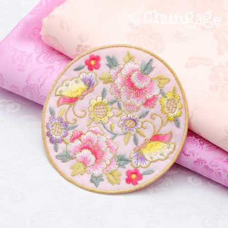 Guaranteed way for hanbok) Butterfly Palace 2color (Pink)