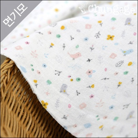 Cotton brushed microfiber Winter fabric dorothy