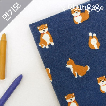 Cotton brushed microfiber winter fabric-friendly dog