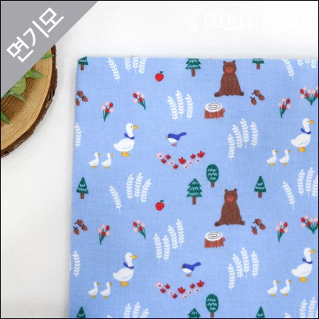 Cotton brushed microfiber winter fabric Unexpected luck