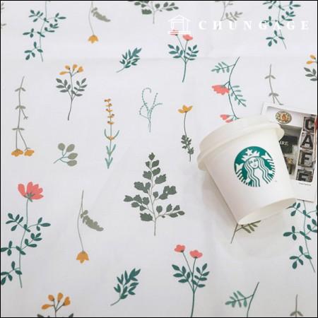 Waterproof Fabric Non-toxic TPU Laminate Fabric Wildflower
