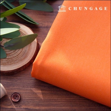 Wide cotton span twill 20 water orange