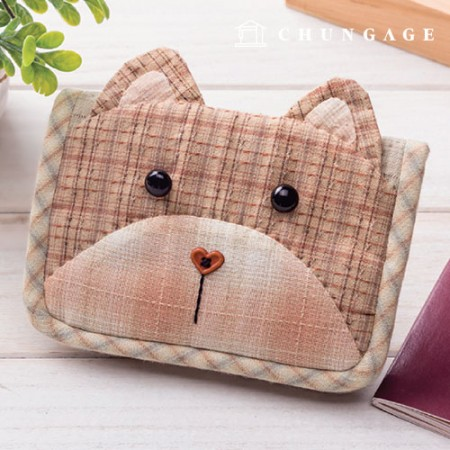 Quilted Package DIY Kit Baby Bear Passport box [CH-613666]