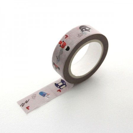 Design Paper Masking Tape London Gray TA085