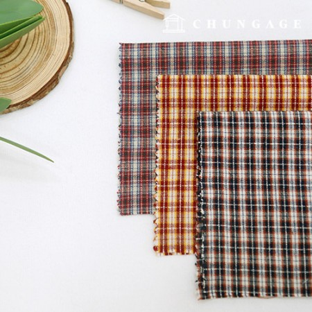 20 Washing ombre fabric Check Fabric Martin Check 3 types