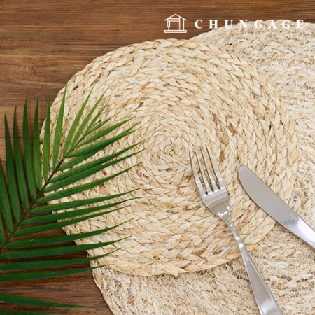 Wanggol Rattan Table Mat 2 Set