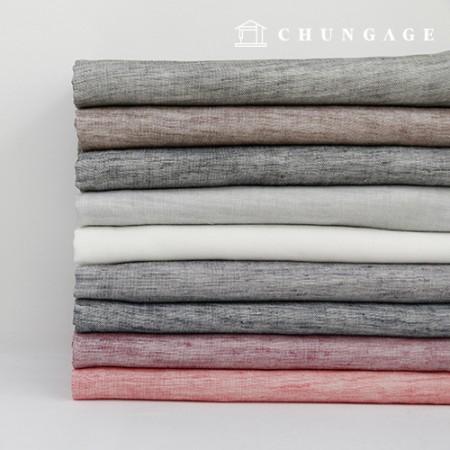 Widely Melan Ombre Gauze Duplex Cotton Fabric Breeze 9 Pieces